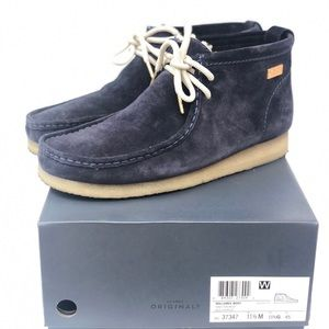 Clarks Kith Wallabee Boot Navy Men's Size 11.5